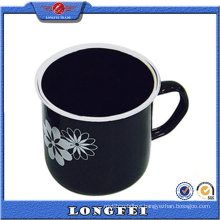 Black Color Fashion Custom Logo Coffee Cup