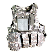 ACU Combat Soft Safety Tactical Gear Molle Paintball Military Vest, Sized 45x112cm