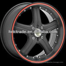 13/14/15/17 inch beautiful 8 * 100 / 114.3 réplique de roue de voiture de sport