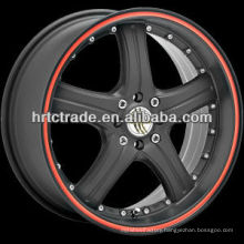 13/14/15/17 inch beautiful 8*100/114.3 replica sport car wheel