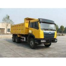 FAW used single axle dump trucks for sale