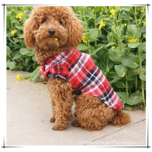 Wholesale Soft Casual Dog Plaid Shirt