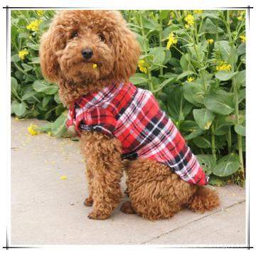 Wholesale Soft Casual Dog Plaid Shirt