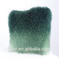 Cojín de cordero de Tíbet del color natural y teñido al por mayor 45x45cm