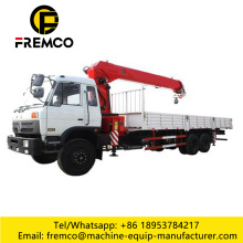 Outrigger Lorry Crane For Construction Used