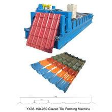 Rollo de la máquina de formación de azulejos de metal