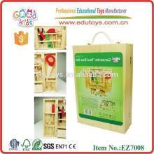 Caixa de ferramentas de carpinteiro para crianças