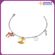Fashion Man's Jewelry Stainless Steel Charm Bracelet