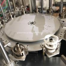 Línea de montaje de tornamesas montaje de piezas de maquinaria