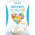 Proceso probiótico de yogur saludable