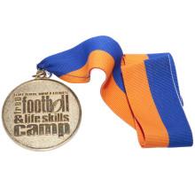 Медаль за сплав на основе событий с эффектом пескоструйной обработки