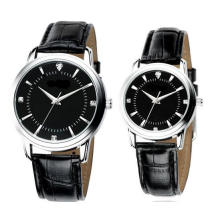Yxl-714 Fashion Lovers Couple Watch Couple Leather Watch Luxury Brand Men Women Watch