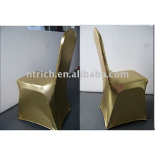 Vogue Gold Spandex Chair Covers,gold covering