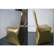 Vogue Gold Spandex Chair Covers, cobertura de ouro