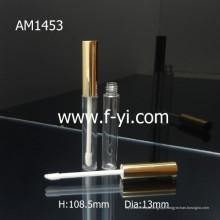 Slin Golden Lid Tubo de lubrificação de lábio de alumínio personalizado