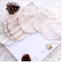 Gants de coton bio mignon pour nouveau-né