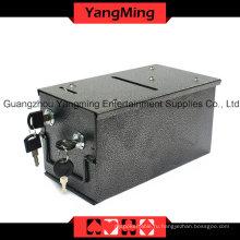 Портативный выделенный железный монетоприемник, перекачивающий водяной бак (YM-MX01)