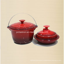 2PCS Cast Iron Cookware Set