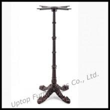 Klassische schwarze Gusseisen High Table Base (SP-MTL109)