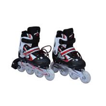 Juego de patines infantiles en negro para niños