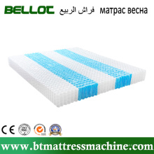 Rouler les unités emballées de ressorts ensachés pour matelas