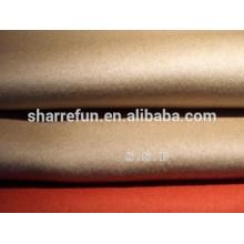 Usine en gros tissé 100% pur tissu de cachemire pour faire le manteau