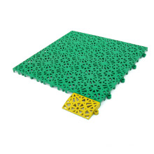Подвесной пластиковый пол