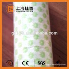 спанлейс нетканая ткань для протирки влажные салфетки зеленые волны линии
