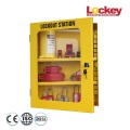 Wall Mounted Hardened Steel Lockout Management Station