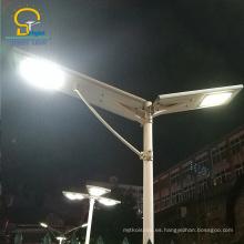 Luz inteligente innovadora todo en una luz de calle llevada solar