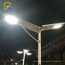 Luz inteligente inovadora tudo em uma luz de rua conduzida solar