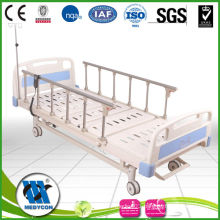 Electric Patient Beds with Two Functions by center control lock system