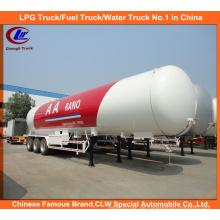 ASME Standard 60, 000 Liter LPG Kochen Gas Tanker Truck Trailer 30mt zum Verkauf
