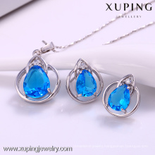 Fashion rhinestone jewelry earrings and pendant jewelry set