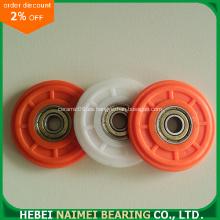 Rodamiento de rueda de polea de nylon 608zz para rodamiento de ventana