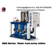 District heating BUSCH water source heat pump chiller