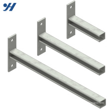 Metal Strut Channel Galvanizing Based Brackets