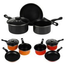Amazon Vendor 3 Pedaço Chef Aço Carbono Nonstick Potes Conjuntos