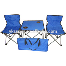 Easy Folding Picnic Table And Chairs for outdoor camping and picnic