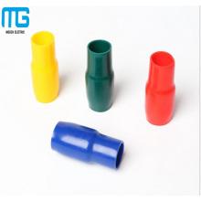 V -8 série Capuchon isolant de terminal de matériau de PVC souple, tube d'isolation avec une variété de couleurs