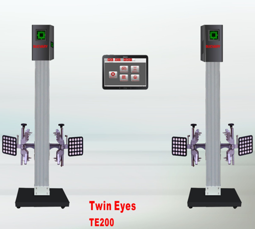 No Calibration 3D Wheel Aligner System