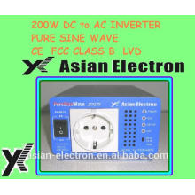 Incomparable calidad 12VDC 200W inversor 120VAC 60Hz