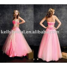 Robes de soirée courtes roses pour femmes