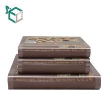Großhandelskundenspezifischer Kraftpapier-Nahrungsmittelverpackenkasten
