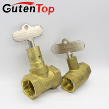LB-GutenTop high quality brass stop lock valve from china yuhaun linbo copper factory