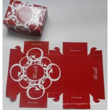 Caixa de bolo dobrável / Caixa de fast food / Placa de cartão Snack Box