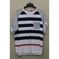 2014 High Quality Custom Polo Neck Dry Fit Striped Polo Shirt for Men