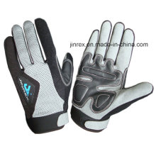 Sports Cycling Mountain Bike Motorcycle Gel Pads Full Finger Glove