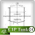 100л-20000L бак для хранения нержавеющей стали с подвижными Рицинусами/Резервуар для хранения