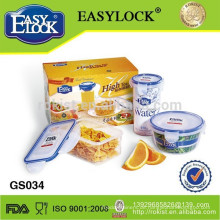Essen-Container, Picknick-Kunststoff-Essen-Container-Set, Geschenk-Set